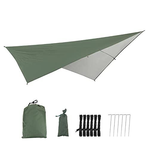 YOOTOM Tenda a Vela Piazza 2.9x2.9m Vela Parasole Ombreggiante Protezione Raggi UV Impermeabile per Patio Giardino Pergola Backyard Outdoor