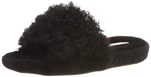 ESPRIT Damen Rey Slide Pantoffeln, Schwarz (Black 001), 38 EU