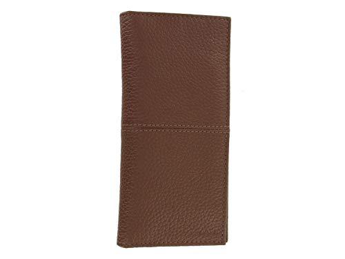 Cole Haan Men's Leather Breast Pocket Wallet, One Size (Cognac)