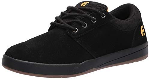 Etnies mens Score Low Top Skate Shoe, Black/Yellow, 7 US