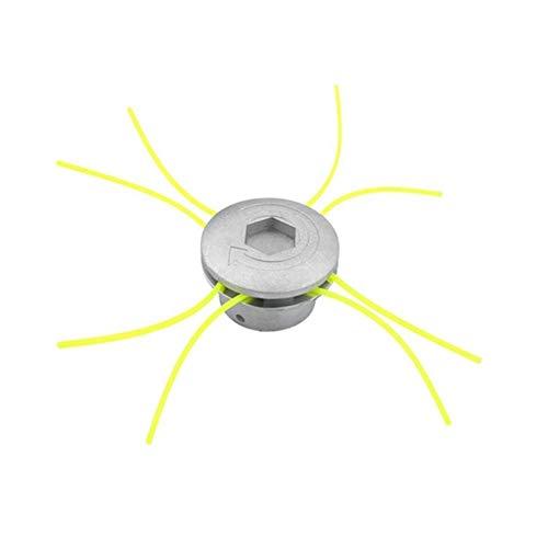 Feeilty Universele tondeuse, aluminium kop voor grastrimmer, grastrimmer, snaren en accessoires