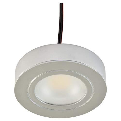 EVN Lichttechnik P-LED Möbel EIN/Anbaul. 089014 chr-mt IP20 350mA 3W 3000K Decken-/Wandleuchte 4037293011129