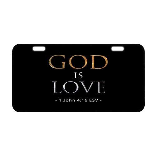 30x 15,5cm strapazierfähiges Nummernschild, Metall Personalisierte Auto Tag, christlichen Bibel...