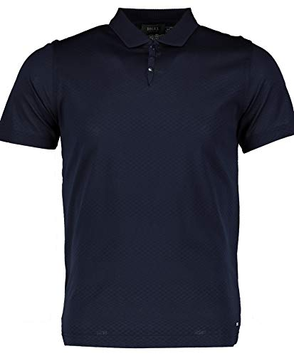 DIGEL Schmal geschnittenes Poloshirt 100% B, blau(blau (20)), Gr. L