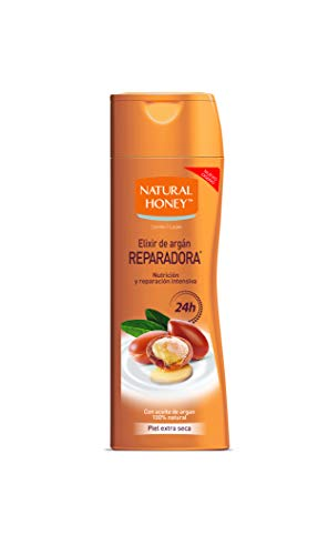 Natural Honey Loción Corporal Elixir de Argán Reparadora 330ml