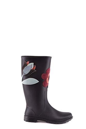 Valentino Luxury Fashion | Red Damen MCBI31521 Schwarz Polyamid Stiefeletten | Jahreszeit Outlet