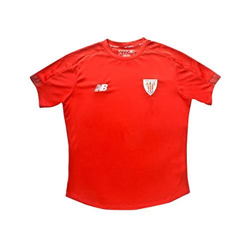 New Balance AC Bilbao Training 2019-2020 Niño, Camiseta, Red, Talla MB