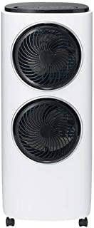 2連ファン付冷風扇 アクアツインファン RF-D1905WH