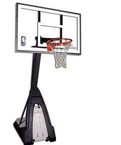Spalding NBA Beast Portable (74-560CN) Canasta, Adultos Unisex, Negro, 60