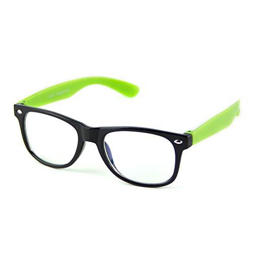 Gafas de Computadora Antifatiga, Cyxus, Unisex, Templo Verde 6101, M