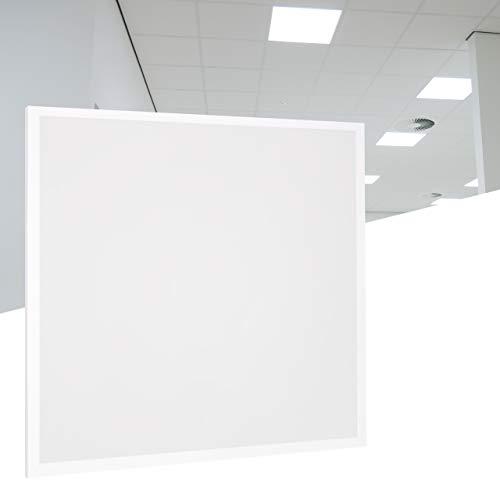 proventa® LED-Panel 62x62 cm, 36 W (A++), neutralweiß 4.000 K, 3.600 Lumen, wiederanschließbares Netzteil m. Eurostecker, 2 Jahre Garantie