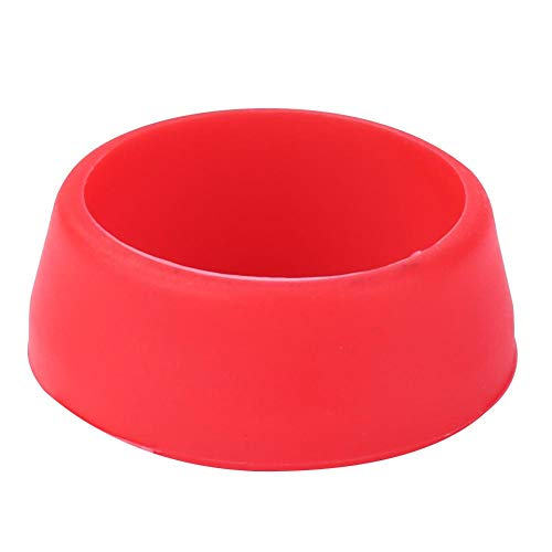 Easydeal Mountain Bike Seat Post Silicone Ring Dust Cover Cycling Seatpost (S Red)
