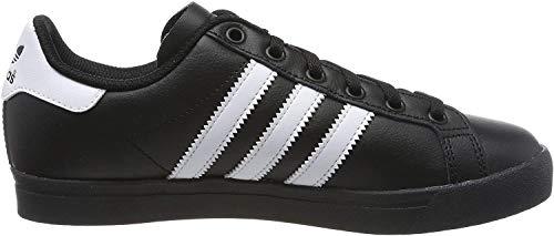 adidas Unisex-Kinder Coast Star Sneaker, Schwarz (Core Black/Footwear White/Core Black 0), 35.5 EU