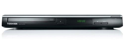 Toshiba SD1010KE-2 Slim Line DVD-Player (DivX-zertifiziert, MP3, JPEG, VCD, SVCD) schwarz