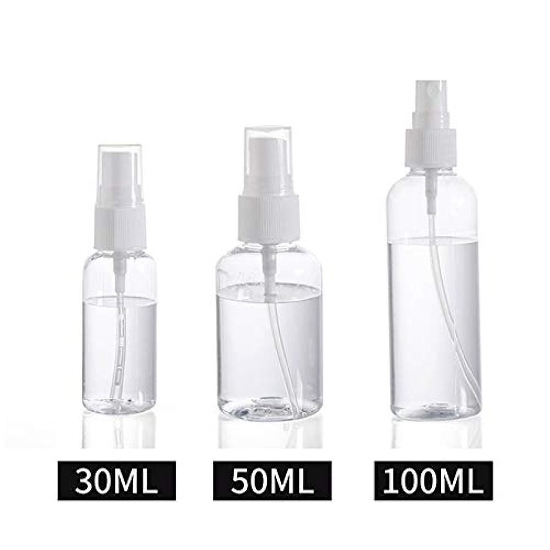狂信者シーサイドに対応30ml / 50ml / 100ml スプレーボトル 小分けボトル 詰め替え シャンプー クリーム 化粧品