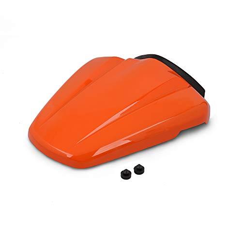 JFG Racing Motorrad Rear Seat Kutte Soziussitz Verkleidung Verkleidung für 125 Duke 2011-2015,200 390 Duke 2012-2015 (Orange)