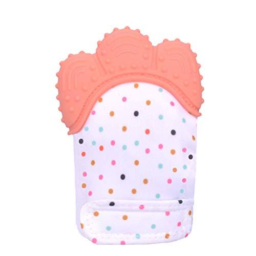 Baby Molar Handschoenen, Peuter Kalmerende Pijn Verlichting Siliconen Teething Wanten, Verstelbare Secure Molar Gum Handschoenen, 4Pack