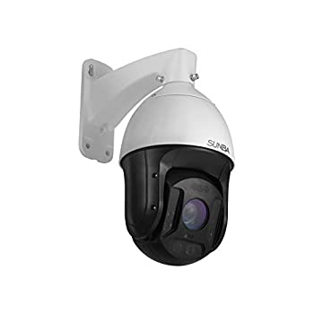 SUNBA 25X Optical Zoom 5MP IP PoE+ Outdoor PTZ Camera Two-Way Speaking High Speed Security PTZ Dome Long Range Infrared Night Vision up to 1000ft  601-D25X 5MP Ver