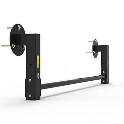 Equipo de entrenamiento en casa Pull-Ups Horizontal Bar CrossBeam Aisle Polar Gym Multi-Person Use Wall Individual Barras paralelas 300kg / 661lbs Gimnasio para hombres y mujeres ( Color : BLACK )