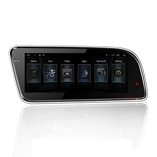 FDGBCF Navegador GPS para Coche 8,8 Pulgadas PC para Coche Android 10,0 Radio estéreo para Coche para Audi Q5 2009-2017 Navegación GPS automática BT WiFi RDS Multimeida Video Audio DSP carplay