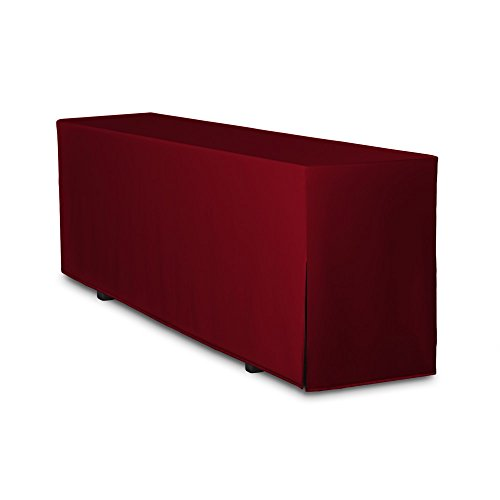 Biertischhusse Premium nur Tisch 220 x 50cm Bordeaux