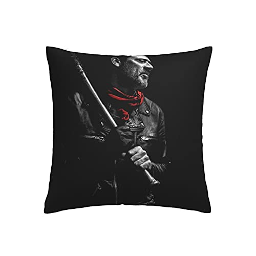 The Walking Dead - Fundas de cojín decorativas para sofá, coche, funda de almohada para decoración de cama de 45 x 45 cm, juego de 1