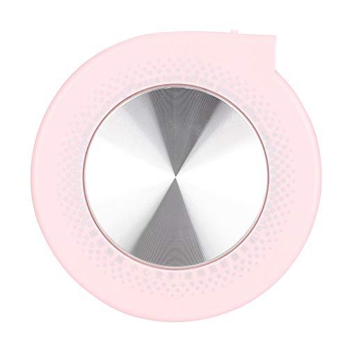 Seguro de alta confiabilidad Buena taza de disipación de calor Estera de calentamiento Aislamiento de posavasos para taza plana(Pink)