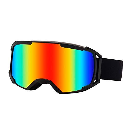 Ski Goggles Gafas de Esquí,Gafas de Esquiar,con Protección Resistentes al Viento,Lentes Anti-Reflejo y Aislamiento,para Hombre Mujer Adultos Juventud Jóvenes Chicos Chicas,UV Magnéticos Esférica Lente