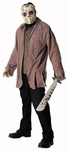 Friday The 13th Jason Costume, Brown, X-Large