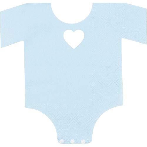 Baby Shower Pajama Theme Napkins (Blue, 50-Pack)