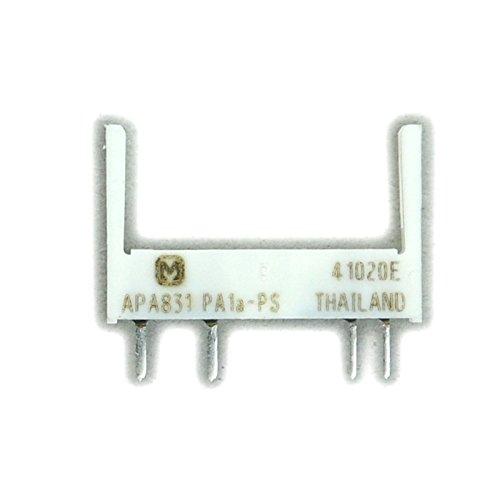 electronics-salon 100pcs Panasonic pa1a-ps apa831Relay Socket, para pa1a-569121824V Slim Relay