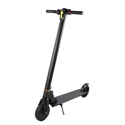Emobi Miko, uniseks, vouwbare elektrische E-scooter, 6,5 inch, met 20 V/4,4 Ah accu, 250 W motor, maximumsnelheid 25 km/h, zwart, maat M