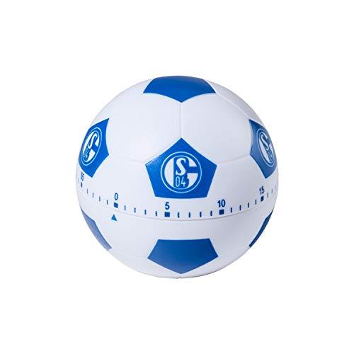 FC Schalke 04 geluid eierwekker, voetbal korte wekker S04 - plus bladwijzer I Love Gelsenkirchen