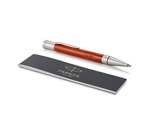 Parker Duofold Classic Kugelschreiber in Big Red Vintage, mittlere Schreibspitze, schwarze Tinte