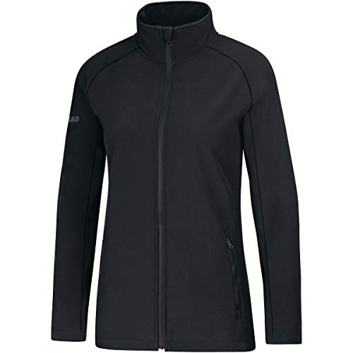 JAKO Damen Softshelljacke Team Softshell-jacken, schwarz, 38