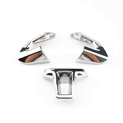 SAXTZDS Lentejuelas del Volante, Apto para Volkswagen VW Golf 6 MK6 Polo Jetta MK5 2011 2012 2013 Polo