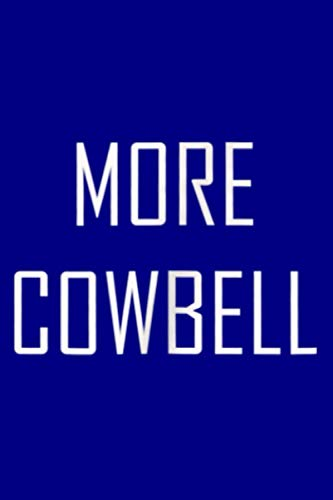 More Cowbell: Notebook Planner - 6x9 inch Daily Planner Journal, To Do List Notebook, Daily Organizer, 114 Pages