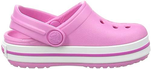 crocs Unisex-Kinder Crocband K Clogs, Pink, 27/28 EU