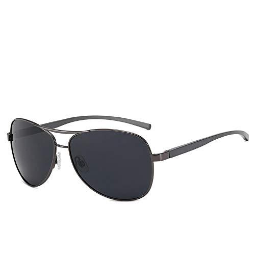 NJJX Gafas De Sol De Aluminio Y Magnesio Para Hombre Con Revestimiento Polarizado, Gafas De Conducción Con Espejo,Accesorios Para Gafas Para Hombre, Polarizado