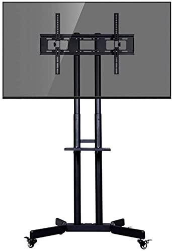 N/Z Inicio Equipos Soporte para TV Soporte de Pared Carrito para TV con Swival Independiente Hoteles Bares Gimnasios Soporte para TV de Montaje en Carro rodante para televisores OLED de Plasma/LCD /