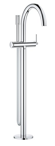 Grohe 32653003 Atrio - Einhand-Wannenbatterie, Bodenmontage, Chrom