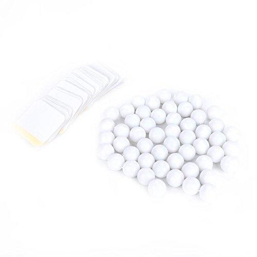Etiqueta para dar forma al cuerpo, etiqueta para ombligo portátil y liviana Producto para el cuidado de la salud Parche firme para mujeres, hombres(100 piezas)