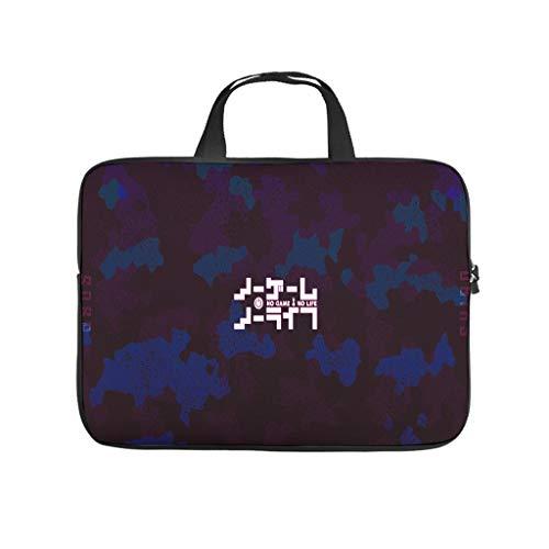 Camouflage-Laptoptasche, bunt, wasserdicht, Laptop-Aktentasche mit tragbarem Griff, für Damen und Herren, weiß, 12 Zoll