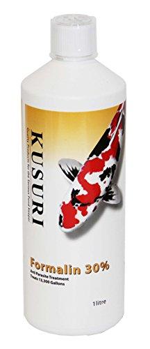Kusuri Formalin 30% Behandlung von Hautwürmer, Costia, Pünktchen, Parasiten (1000 ml)