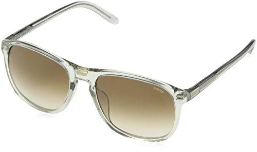 Lozza Herren Sl1845L Sonnenbrille, Braun (Shiny TRANSP.Light Grey), Einheitsgröße