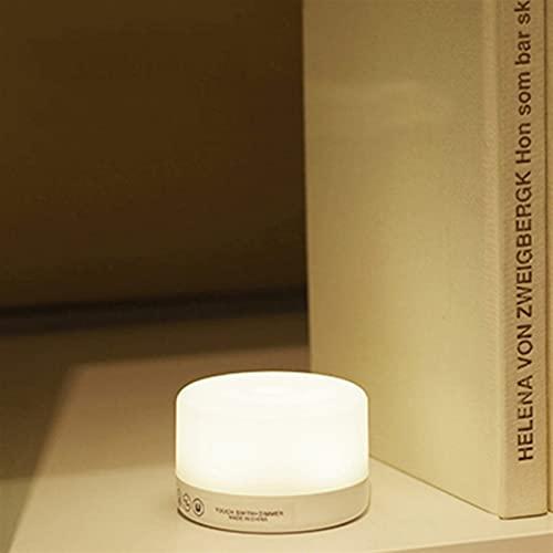Iluminación nocturna Control táctil Lámpara de noche Luz de noche regulable Luces LED recargables Lámparas de dormitorio portátiles