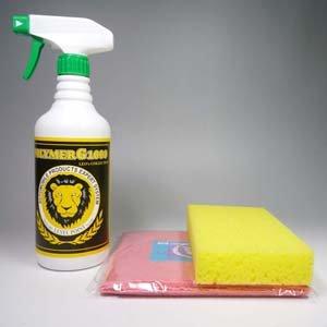 コーティング剤 ガラス繊維系コーティング剤 ポリマーG1000に洗車スポンジと超極細繊維クロスが付いたセット