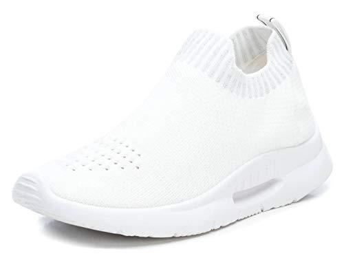 XTI 49823.0, Zapatillas sin Cordones Mujer, Blanco (Blanco Blanco), 40 EU