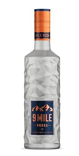 9 Mile Vodka Wodka 0,5l (37,5% Vol) LED beleuchtet