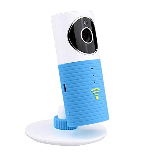 Mengshen Moniteur bébé intelligent sans fil Wifi Vidéo Caméra bébé avec P2p Vision nocturne Enregistrement vidéo Prise en charge bidirectionnelle Détection de mouvement Prise en charge Carte TF pour téléphones intelligents et tablettes MS-WH19
